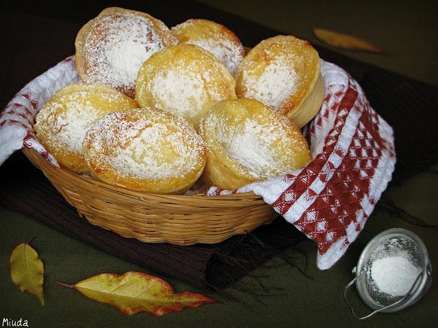 Португальские пирожные с творогом