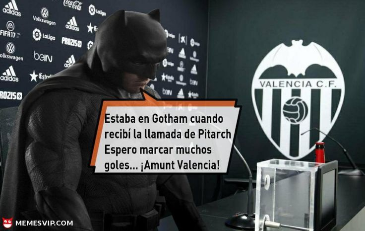 Meme Batman revulsivo para el Valencia - Batman revulsive for Valencia meme