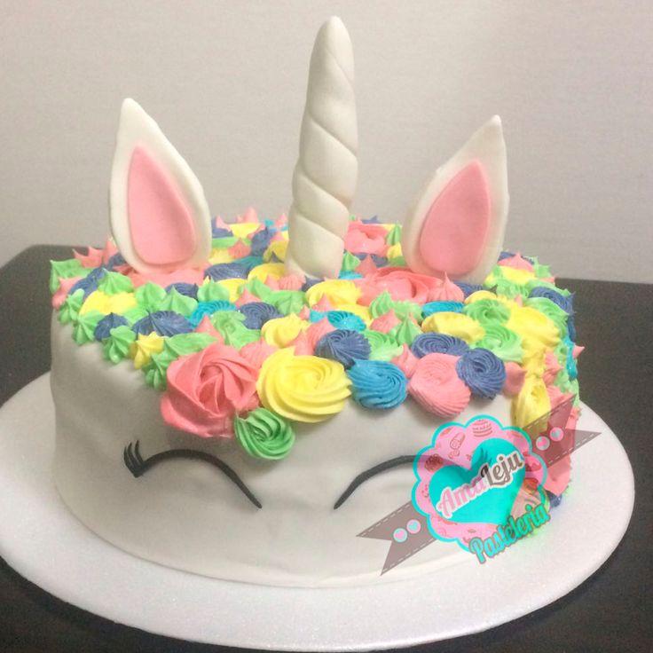 Torta Unicornio Realiza tu pedido por; https://goo.gl/mvYBYv WhatsApp: 3058556189, fijo 8374484  correo info@amaleju.com.co Síguenos en Twitter: @amaleju / Instagram: AmaLeju