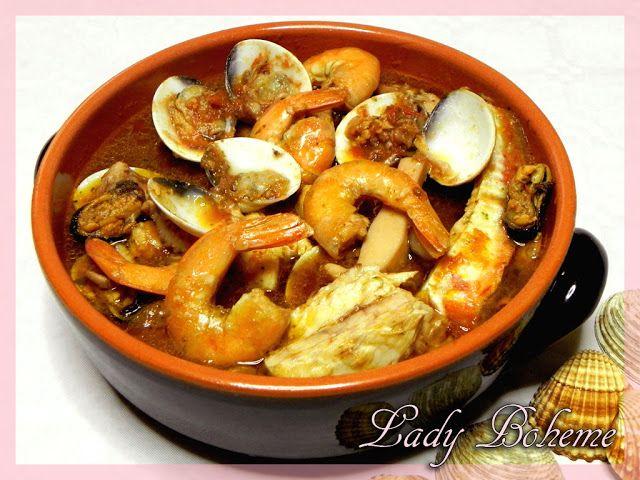 Italian food - Brodetto di pesce