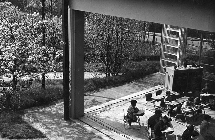 MoMA | Century of the Child Open-air School, Suresnes, France / Eugene Beaudouin and Marcel Lods