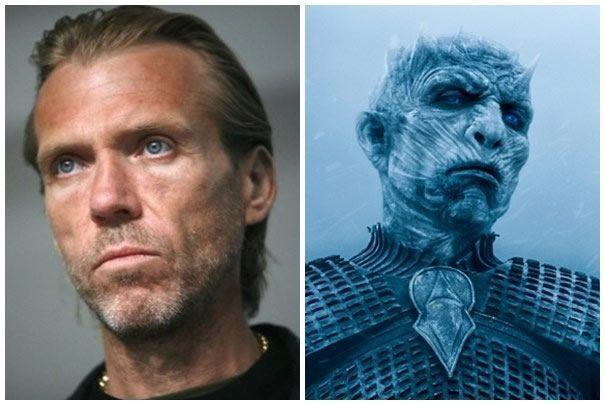 """Richard Brake interpreta al enigmático Rey Oscuro en la serie """"Game of Thrones""""."""