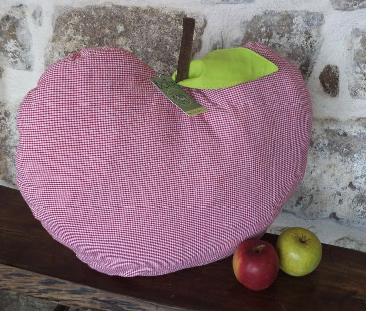 Apple Cushion. Snow White can take a nap on this one