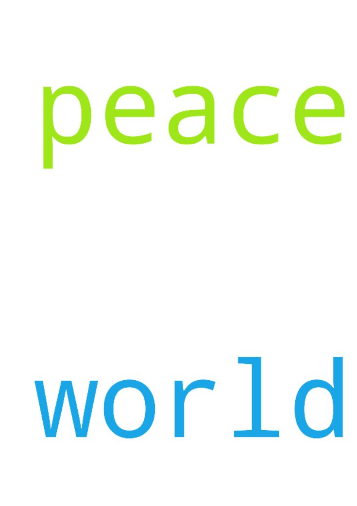 I pray for world peace! Amen! - I pray for world peace Amen Posted at: https://prayerrequest.com/t/Hxa #pray #prayer #request #prayerrequest