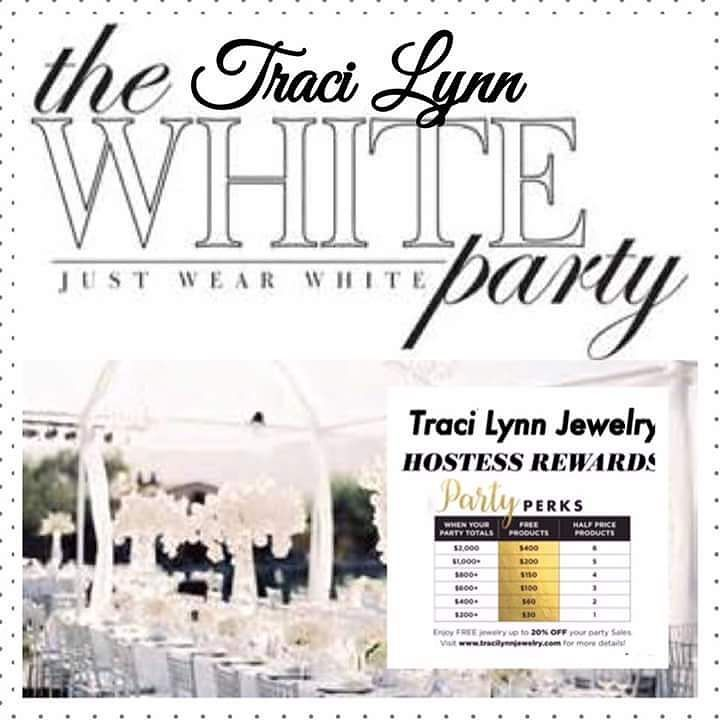Let's plan your Traci Lynn Jewelry All-White Party. Comment your email and I will contact you or send me a DM. #fashionblog #tracilynnparties #allwhiteparty #jewelry #twitter