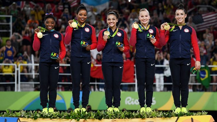 """Rio Olympics 2016 """"The Final Five"""" Gymnastics Gold with Team USA 
