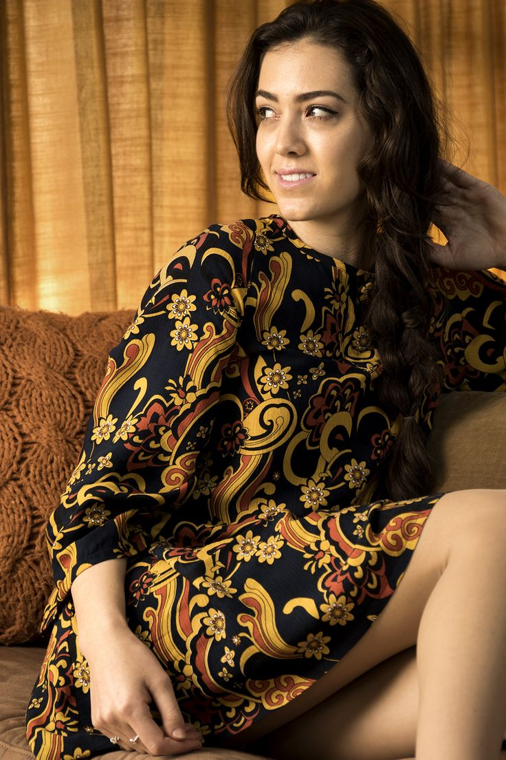 Misty Lang Swing dress sixties fashion madmen style new zealand fashion retro dress floral dress