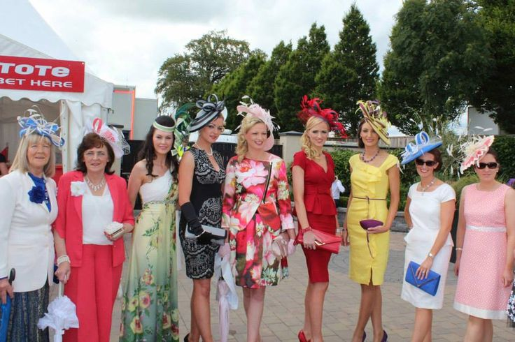 All 9 hats by JHK Millinery showcased at the Irish Derby, Curragh Racecourse, 2014. #IrishDerby