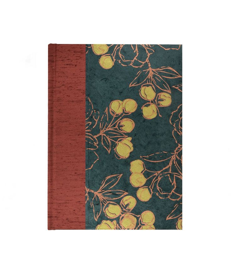 Graph Paper Blank Book  COPPER and GOLD by WolfiesBindery on Etsy