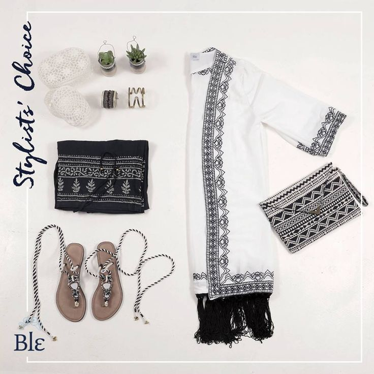 Folklore is back –or so says our stylist, and who are we to argue! Shop pieces in black and white with a pattern on the side for an elegant result. Find the combo at ble-shop.com #BleResortCollection #StylistsChoice #Folklore #Fashion #Style #SummerClothes #SummerShopping #Shopping #SummerStyle #SummerFashion #SummerHolidays #Holidays #Summer #BleSummer #Greece #GreekSummer #GreekIslands