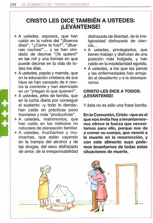 Obtenido del Misal para todos los Domingos y fiestas del año 2016 Ciclo C, Buena Prensa