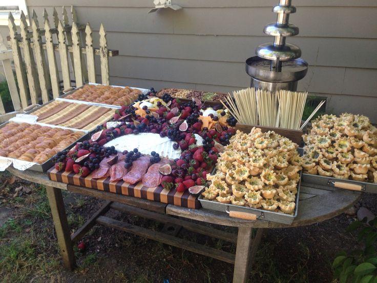 Summer Wedding Buffet Menu Ideas: 226 Best Images About Wedding Buffet Ideas On Pinterest