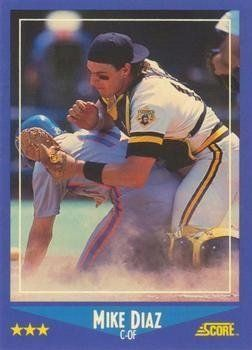 1988 Score #143 Mike Diaz - Pittsburgh Pirates (Baseball Cards) by SCORE. $2.95…