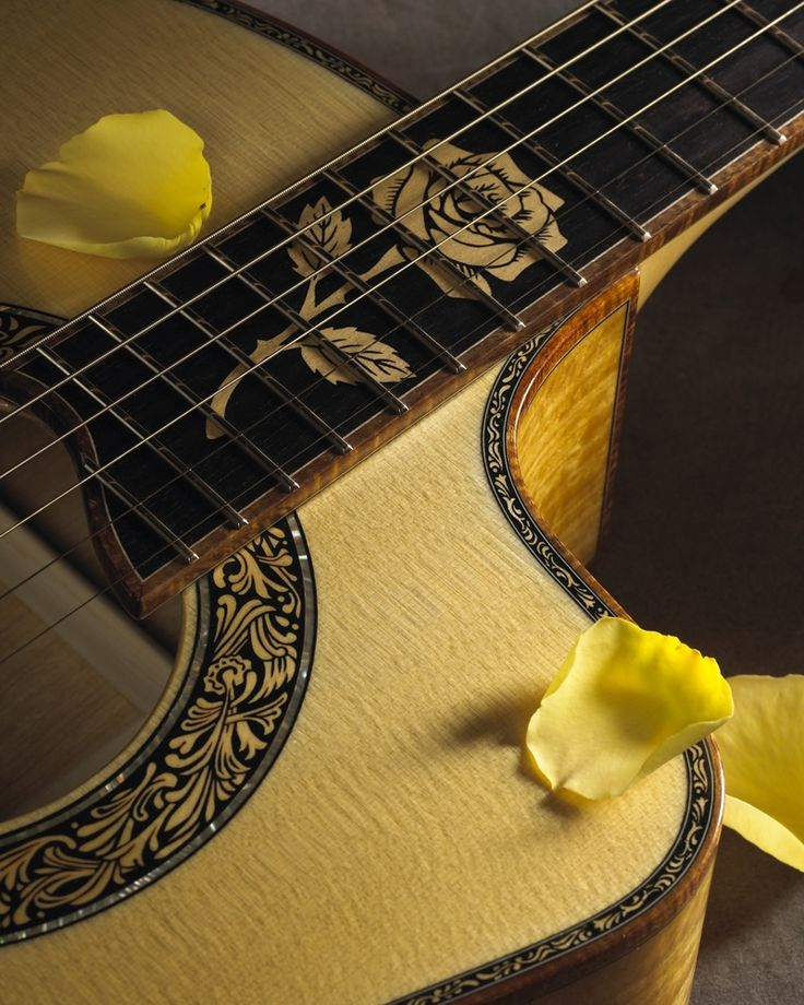 The Yellow Rose by Petros Guitars, CustomMade.com Artist Guitars Australia - http://www.kangabulletin.com/online-shopping-in-australia/artist-guitars-australia-the-home-of-guitar-enthusiasts/ #artist #guitars #australia guitar factory, parker guitars and guitar websites