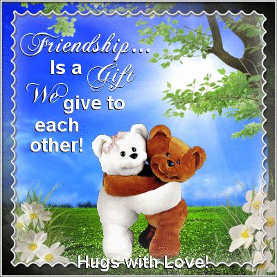 Friendship Day 2nd August/Thoughts section. This ecard can be sent to your friends with Hugs & Love! Permalink : http://www.123greetings.com/events/friendship_day/thoughts/smiles_hugs_with_love.html