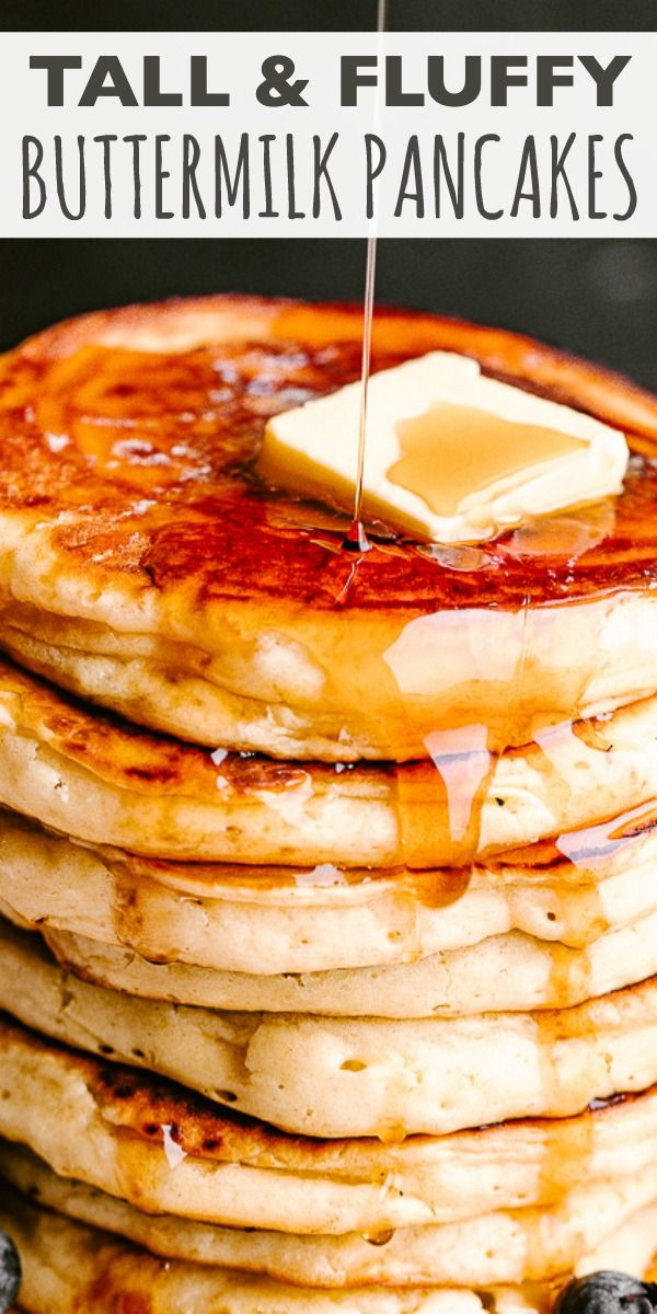 Buttermilk Pancakes Fluffy Buttery And Delicious These Are The Most Perfect In 2020 Buttermilk Recipes Fluffy Buttermilk Pancake Recipe Buttermilk Pancakes Fluffy