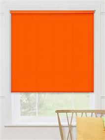 Valencia Orange Roller Blind - give your room a burst of colour with this striking roller blind. #blinds #roller #colours