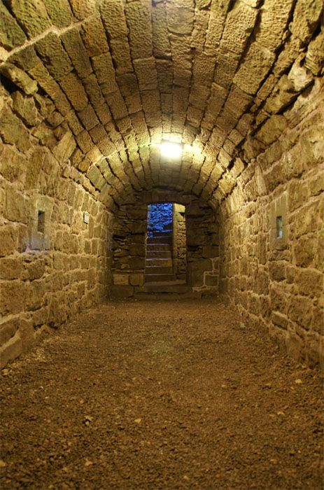 Underground secret passage. Ooh, can I have this in my house??