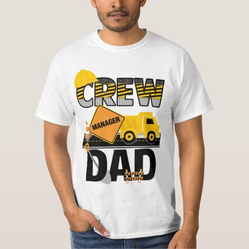 Construction Dad Shirt, Birthday Shirt, Dump Truck T-Shirt