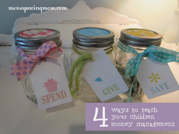 Good ideas to teach kids money management.  I'm particularly fond of the commissioned/noncommissioned chores idea.