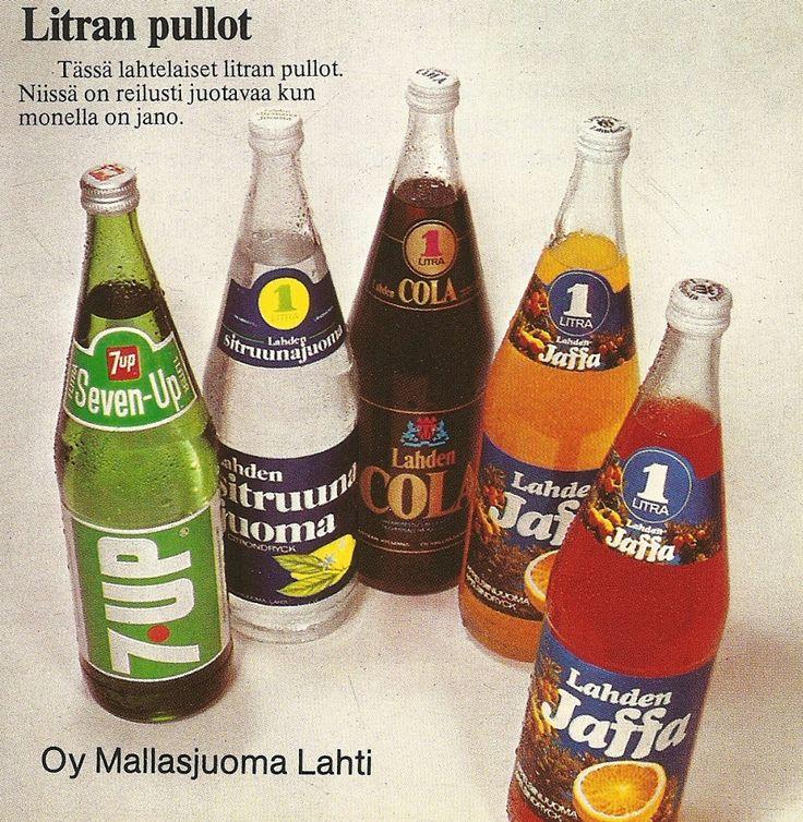 Lahden virvoitusjuomia 70-luvulta