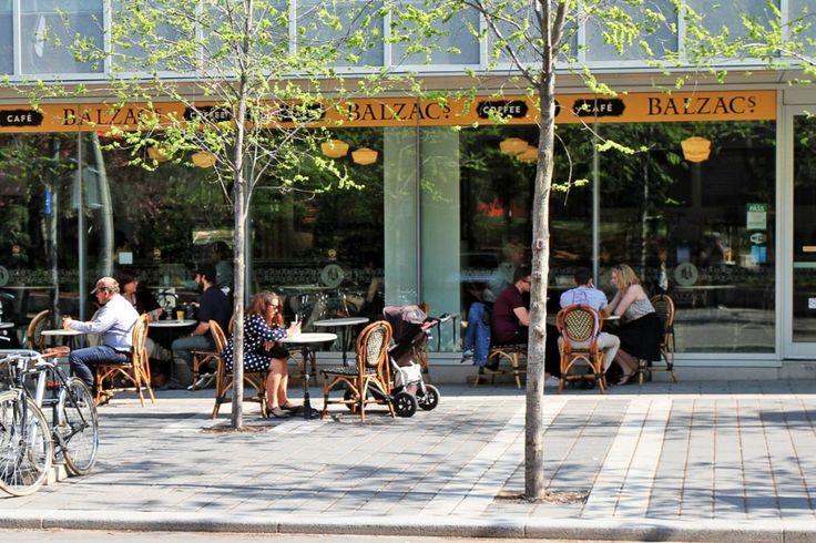 Balzac's Coffee Roasters: Ryerson Image Arts #coffee #cafe #ryerson #espresso