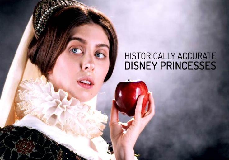 La véritable apparence des Princesses Disney