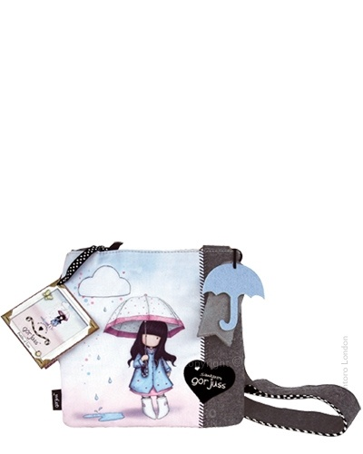 Gorjuss Pocket Bag - Puddles Of Love