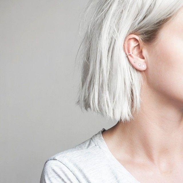 Best 25+ 3 ear piercings ideas on Pinterest | Ear ... Ear Piercings Pinterest