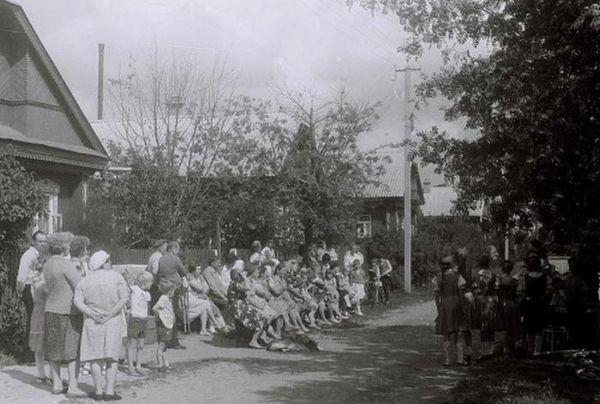 Праздник на Садовой улице, 1986 год, Ивановская область