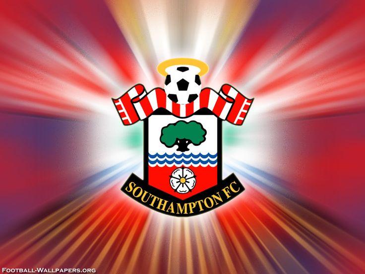 Southampton FC Logo Wallpaper | Wallpapers | Pinterest | Logos