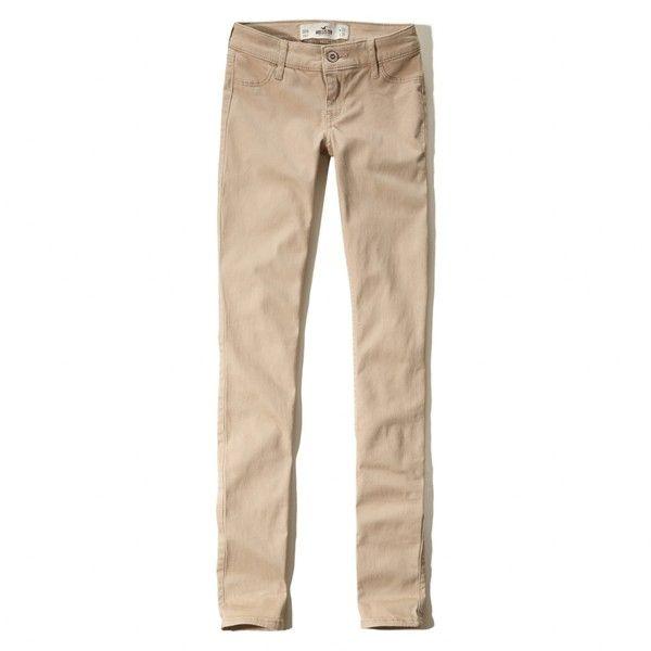 Hollister khaki pants outfits