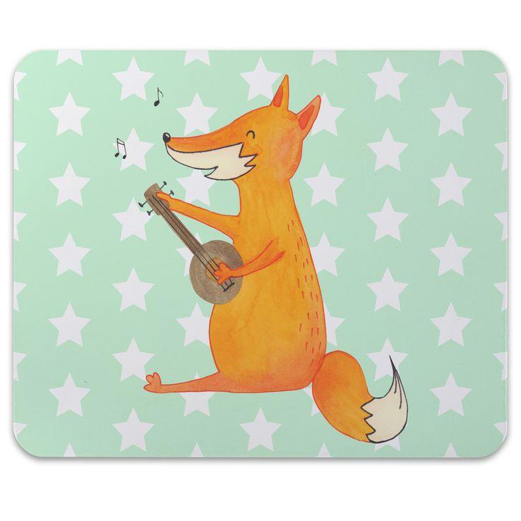 Mauspad Druck Fuchs Gitarre aus Naturkautschuk  black - Das Original von Mr. & Mrs. Panda.  Ein wunderschönes Mouse Pad der Marke Mr. & Mrs. Panda. Alle Motive werden liebevoll gestaltet und in unserer Manufaktur in Norddeutschland per Hand auf die Mouse Pads aufgebracht.    Über unser Motiv Fuchs Gitarre  Die Fox Edition ist eine besonders liebevolle Kollektion von Mr. & Mrs. Panda. Jedes Motiv ist wie immer bei Mr. & Mrs. Panda hangezeichnet und wird in unserer Manufaktur im Herzen…