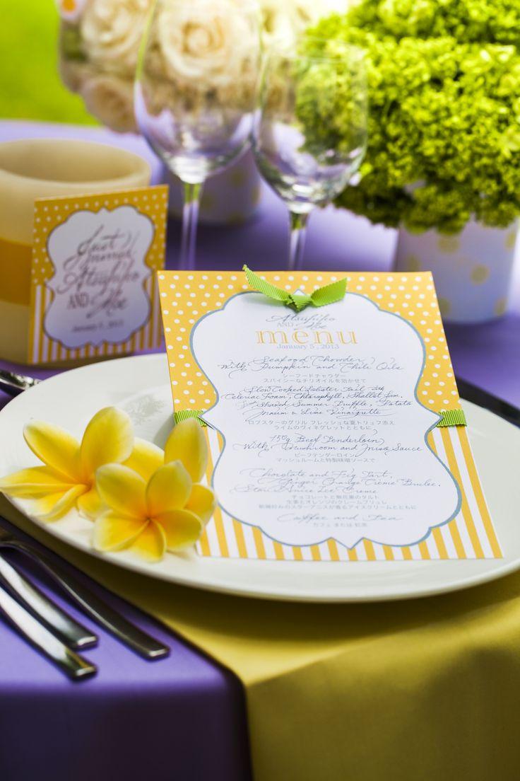 wedding Item paper #Wedding #TRUNK #OneHeart #nametag