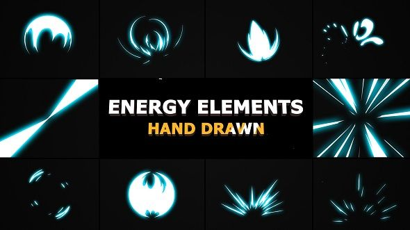 Energy Elements by FlashFXbox The Energy Elements After Effects