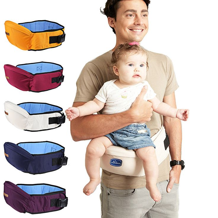 Baby Carrier 2017 New Waist Stool Walkers Babies Sling Hold Waist Belt Backpack Hipseat Belt Equipped with Mesh Pocket for Kids