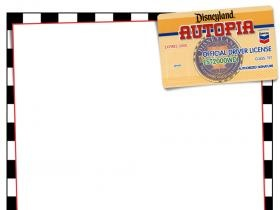 Journal Card - Disneyland - Autopia - 3x4 photo dis_259_DL_Autopia.jpg
