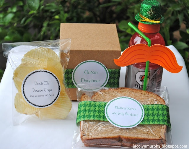 lunch labels: Jac, Day St Patrick S, Lunches, Patricks, Lyn Murphy, Leprechaun Lunch Ok, St Patrick'S Day
