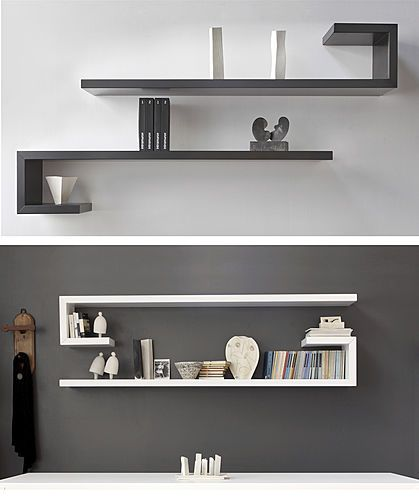 M s de 25 ideas incre bles sobre estantes de pared para tv en pinterest soporte de televisi n - Estanterias modernas de pared ...