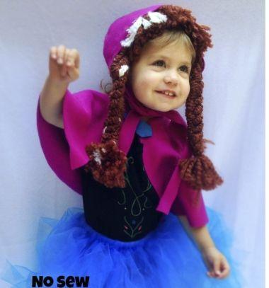 No sew Anna costume (Disney - Frozen) / Varrás nélküli Anna jelmez (jégvarázs) / Mindy