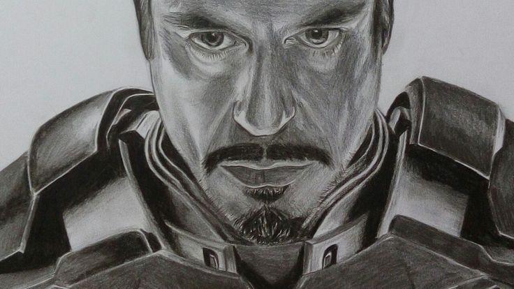 Dibujo Ironman Marvel