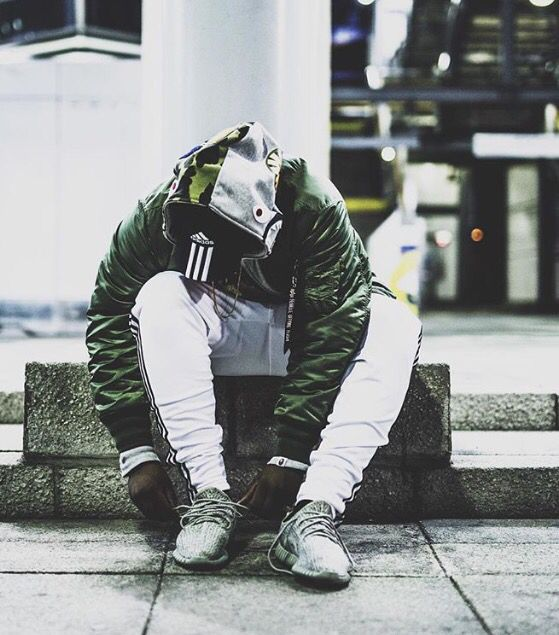 Bape / Adidas / Alpha Industries / Yeezy. Crazy fit