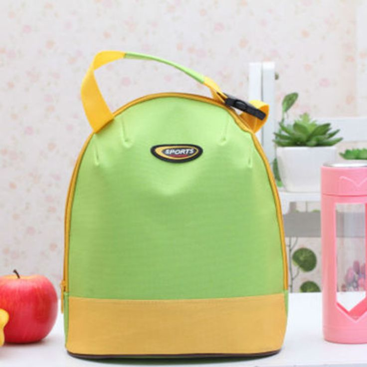 Hot Women Portable Insulated Thermal Cooler Ice Lunch Box Food Storage Cooler Containers Carry Bag
