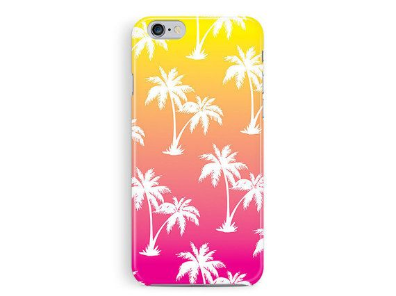 PALM TREE Phone Case, Pink iPhone 6 Case, Sunset iPhone 6 Case, Hawaii cell Case, Tropical iPhone 6 Case, colourful iphone 6 case, cool case