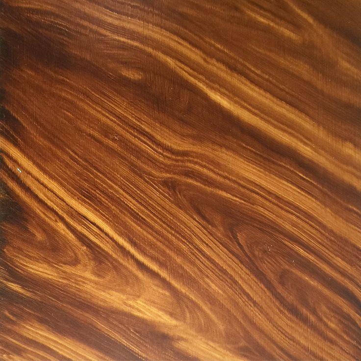 Hand painted wood graining Decorative finish