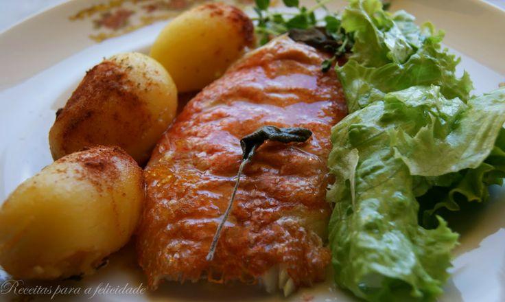 Receitas para a Felicidade!: Red Fish no Forno com Batatinhas