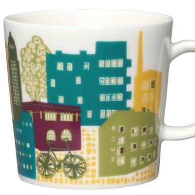 "Mug ""Downtown"" designed by Miira Zukale for Arabia Finland"