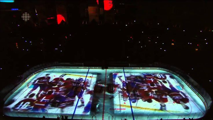 Montreal Canadiens Pre-Game Intro Game 3 vs Lightning - 2014/04/20. I thought Halifax's intro was better.