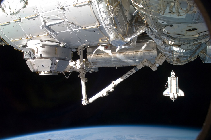 One of Canada's contributions to the space program. The Canadarm.