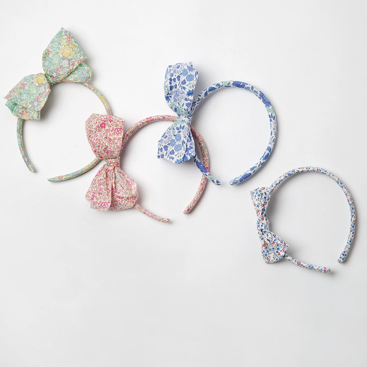 New in! Our bow Alice bands are perfect for parties and a great way to add a little colour to your outfit this season  #trotters #aliceband #trotterschildrenswear #libertyoflondon #libertylondon #childrenswear #hairaccessories #kidswear #hairbows #londonkids #londonmum